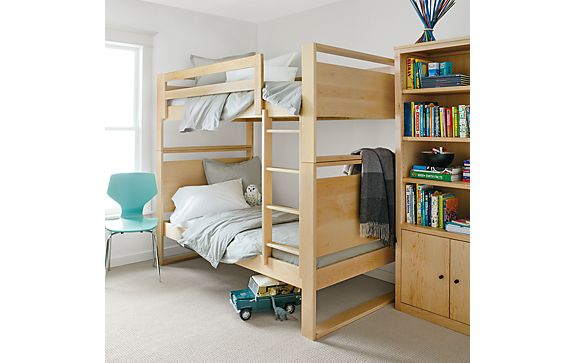 Dayton Bunk Bed in Maple