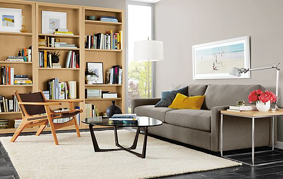 Easton Sofa With Lars Chair Modern Living Room Furniture