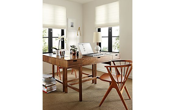 Ellis Desks with Soren Dining Chairs