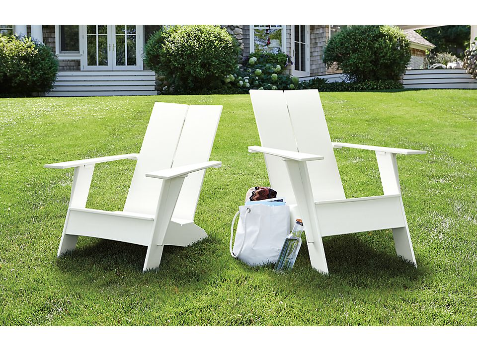 Emmet tall and short outdoor lounge chairs