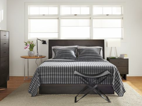 Bedroom Boards Collection hudson bedroom collection in charcoal - modern bedroom furniture