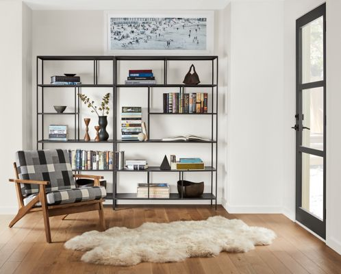 Foshay Bookcases in Natural Steel