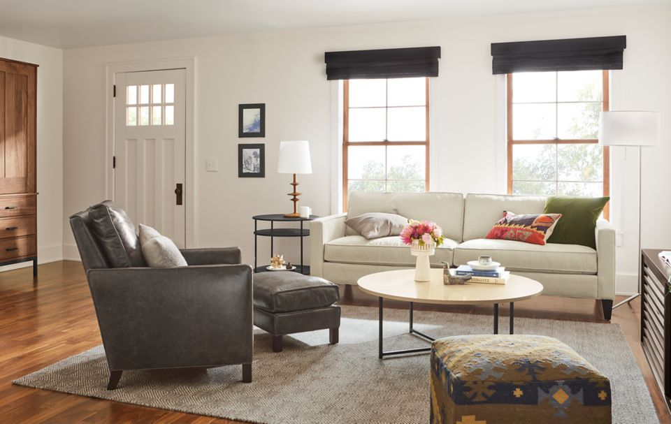 Detail of Harrison 90-inch sofa