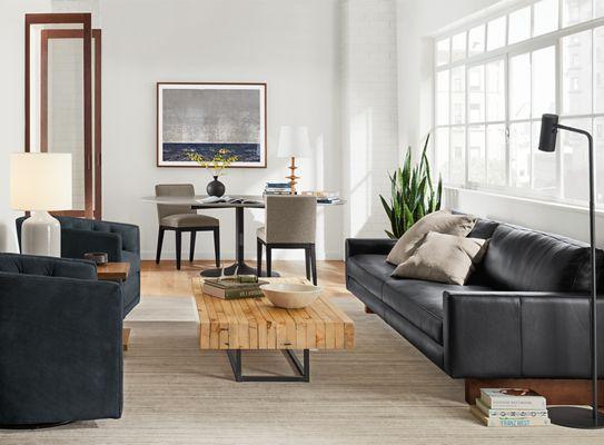Hess Leather Sofas