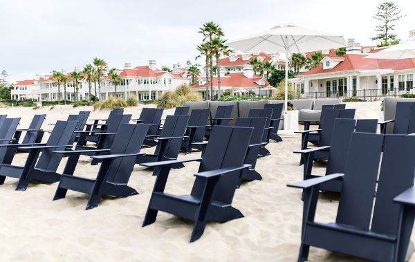 Emmet Lounge Chairs In Navy