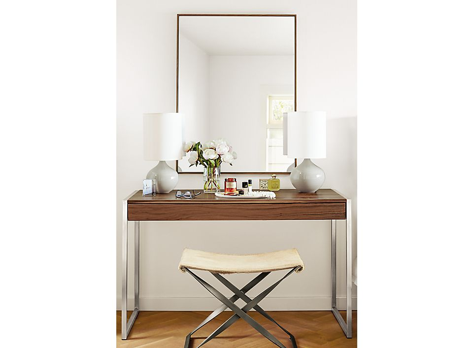 Hudson Mirror In Walnut Where To Hang Mirrors Room Board