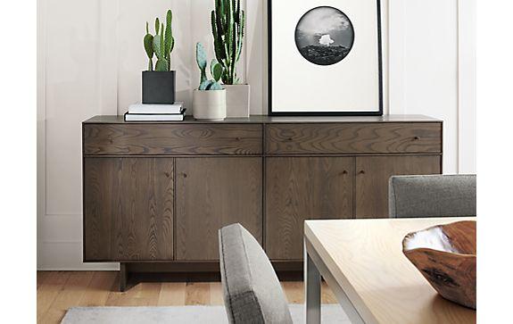 Hudson Cabinet in Bark Finish
