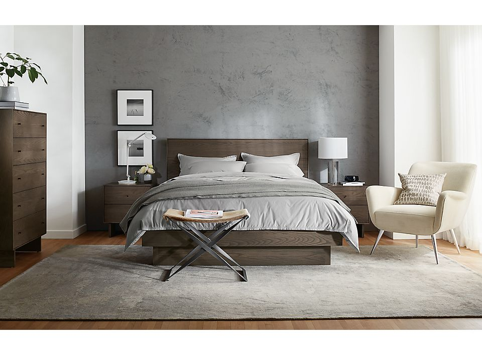 Hudson Bedroom Collection In Bark Stain Room Board