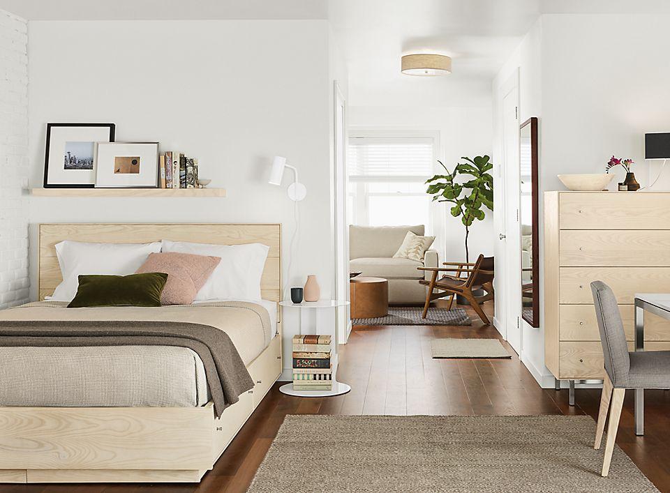 Hudson Storage Bed And Dresser In Sand Room Board