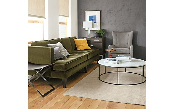 Hutton Sofa with Tyne Cocktail Table