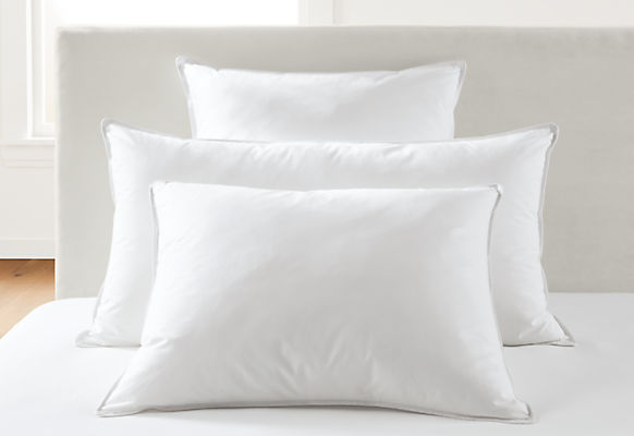 Hypoallergenic standard pillow medium