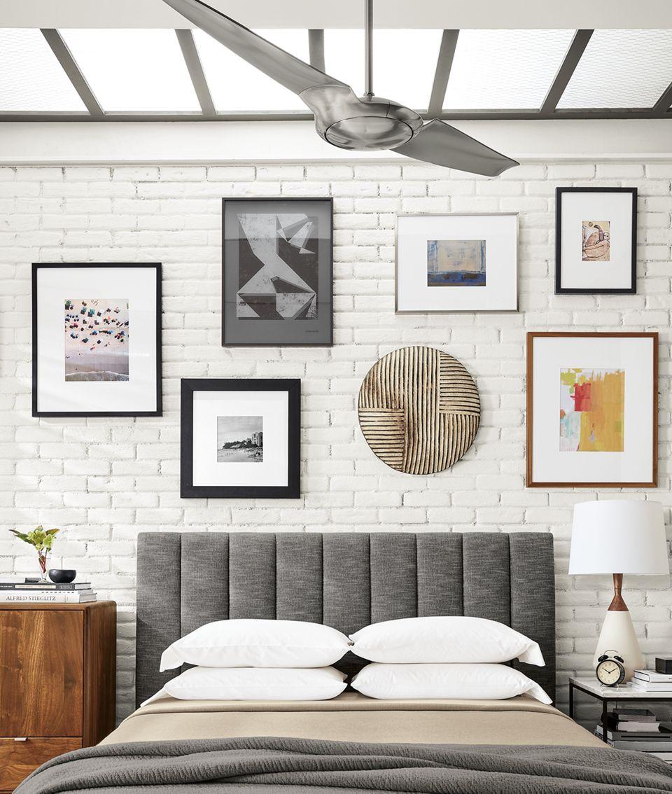 Detail of IC Air modern bedroom ceiling fan