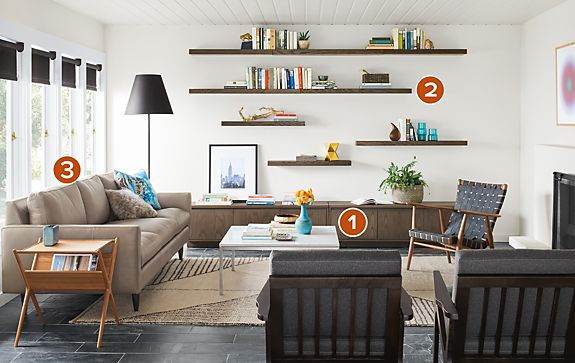 Jasper Sofa with Ira Chair Living Room