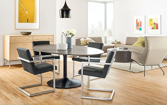 Julian Dining Table with Lira Chairs