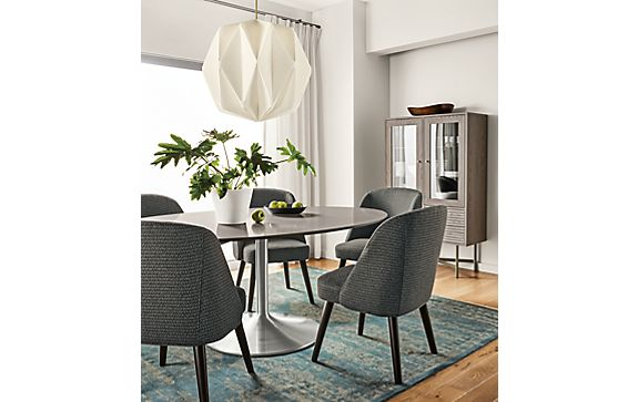 Julian Dining Table with Cora Chairs