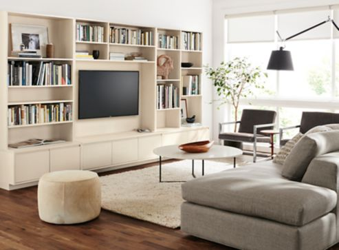 Bookshelves Living Room Set keaton bookcases living room  modern living room furniture  room