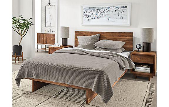 Kennewick Bedding in Grey