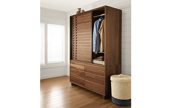Komo Armoire in Walnut