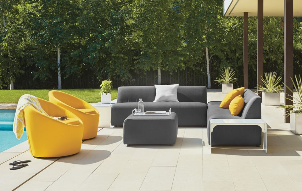 Detail of Laguna outdoor sectional
