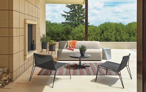 Laguna Sofa With Penelope Lounge Chairs