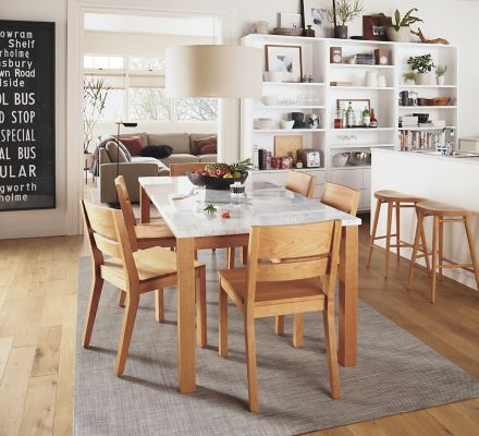 Linden Table Afton Chair Dining Room Modern Dining Room