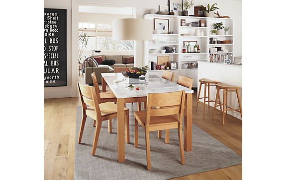 Linden Table   Afton Chair Dining Room. Linden Table   Afton Chair Dining Room   Modern Dining Room