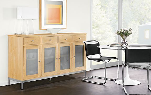 Linear Custom Dining Cabinet