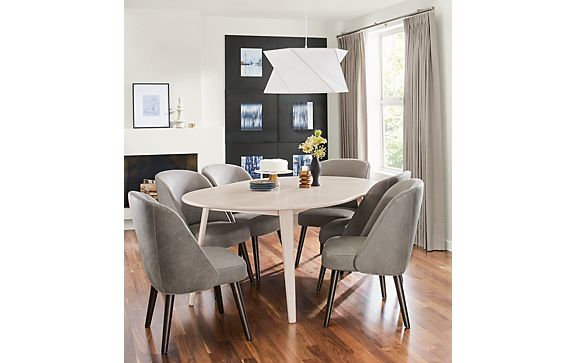 Lowell Extension Table with Cora Chairs