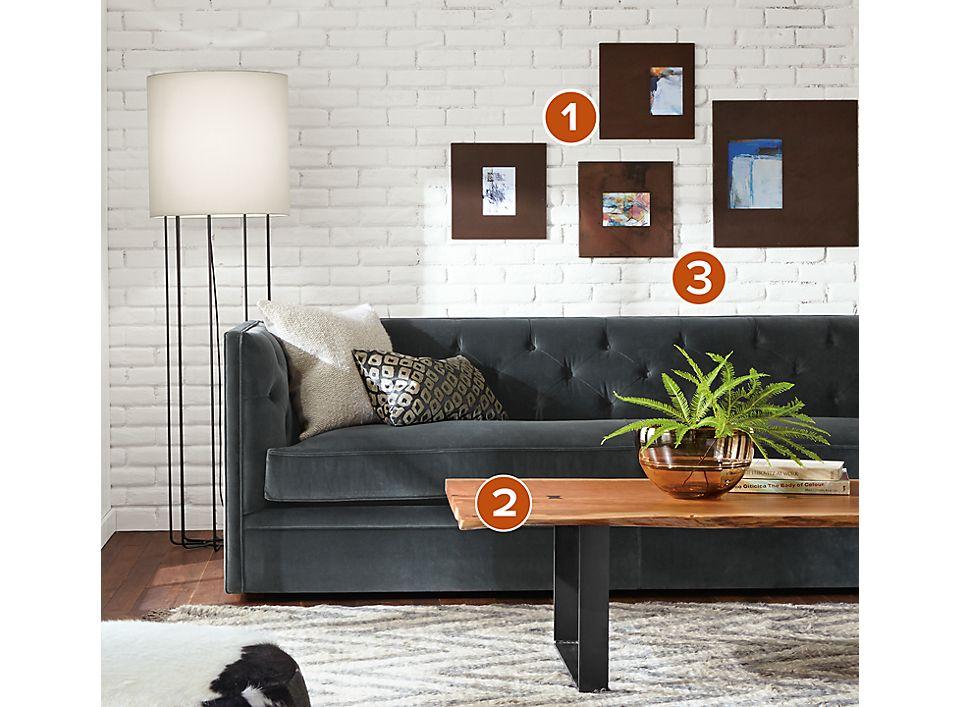Manhattan Frames in Patina - Frame Wall Ideas - Room & Board
