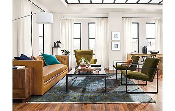Heriz Rug Living Room
