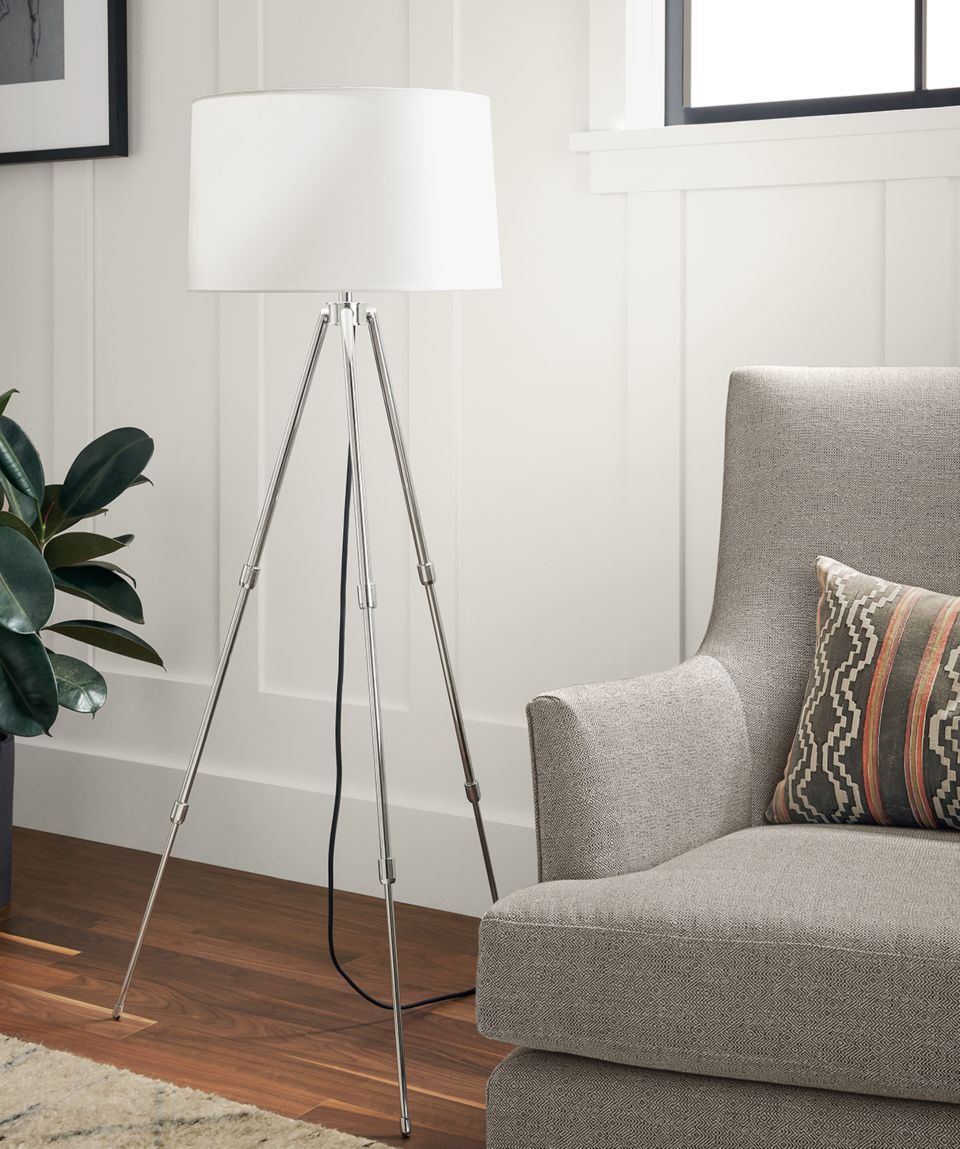 Close detail of Madeline floor/table lamp
