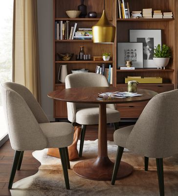 Madison Table In Walnut With Cora Chairs