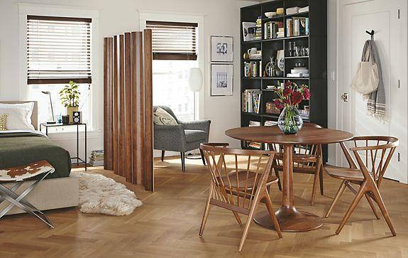 Madison Table & Soren Chair in Walnut