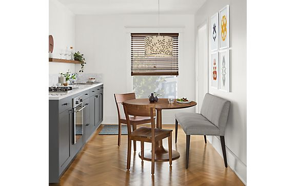 Madison Dining Table in Walnut with Ava Bench