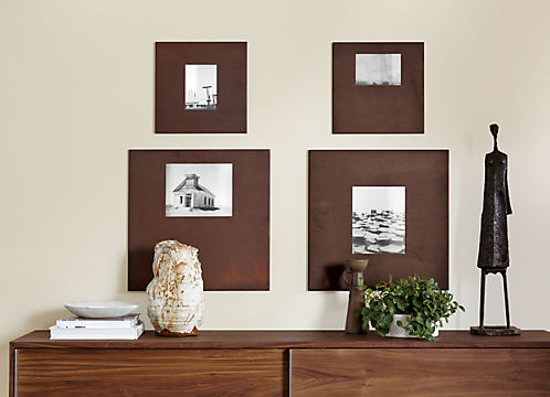 Manhattan Modern Picture Frames in Patina - Modern Picture Frames ...