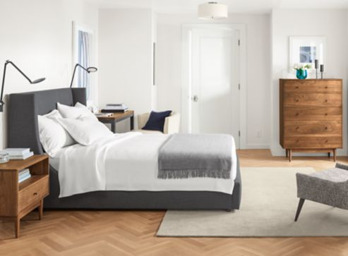 Bedroom Boards Collection marlo bed with grove collection - modern bedroom furniture - room