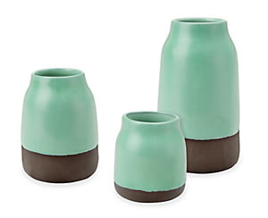 Combination of Meadow vases in sky configuration