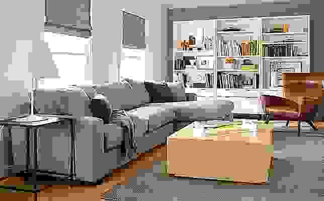 Detailed of Metro 120-inch sofa