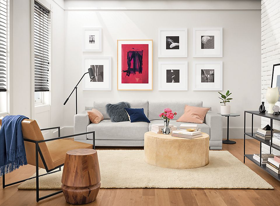 Mira sofa in modern living room