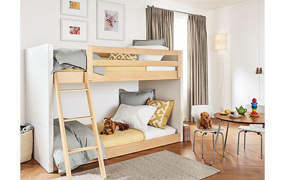 Moda Mini Twin over Twin Bunk Bed