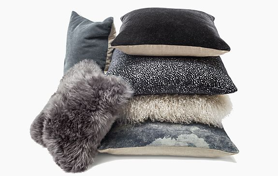Grey Pillow Ensemble
