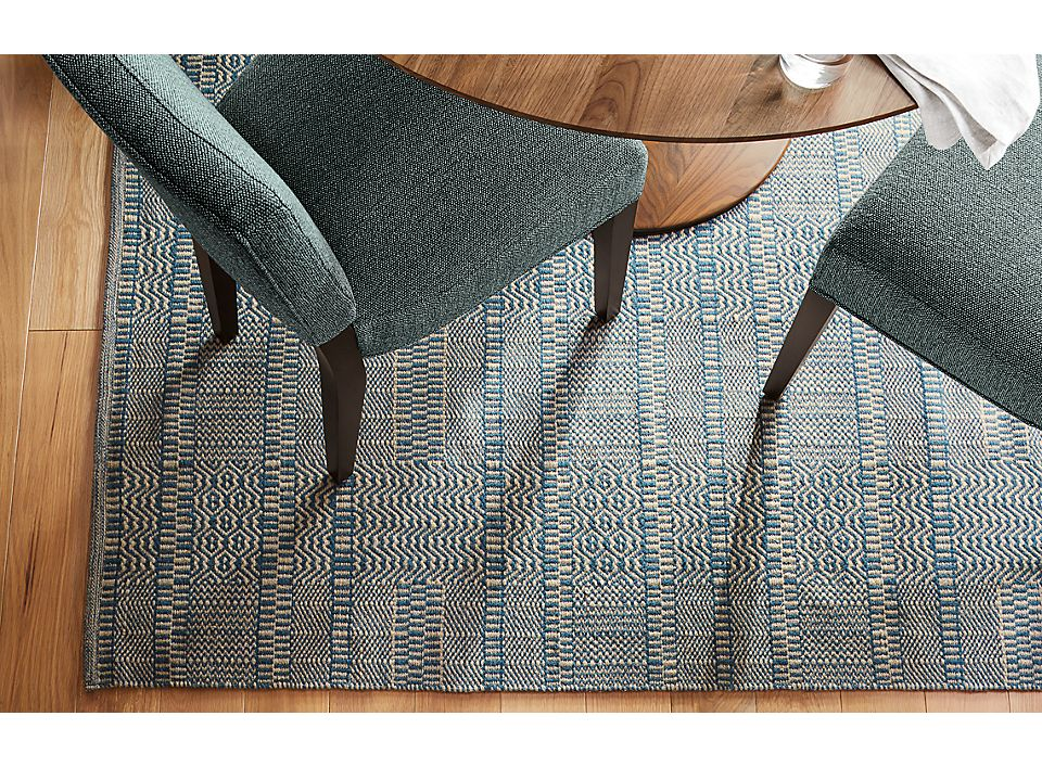 Detail of Montage rug