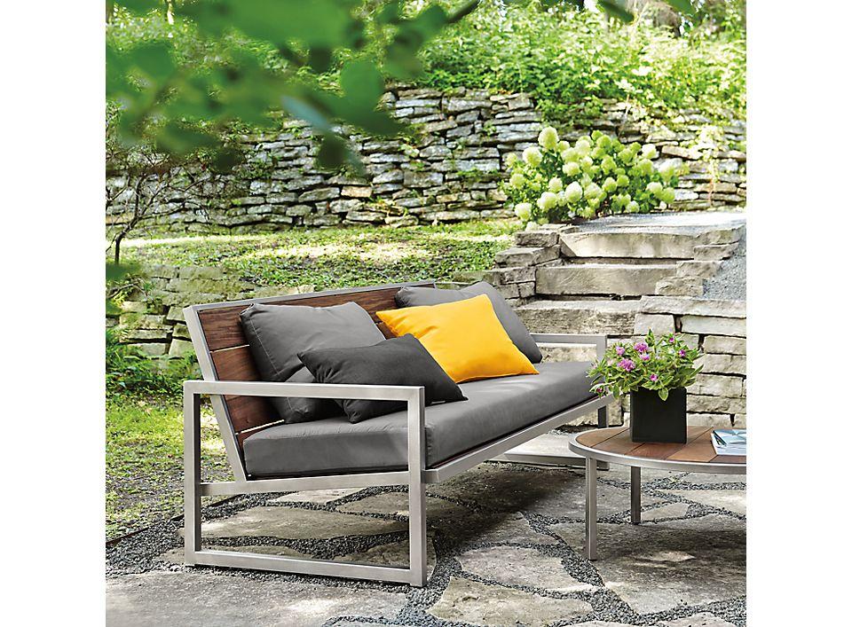 Side detail of Montego sofa