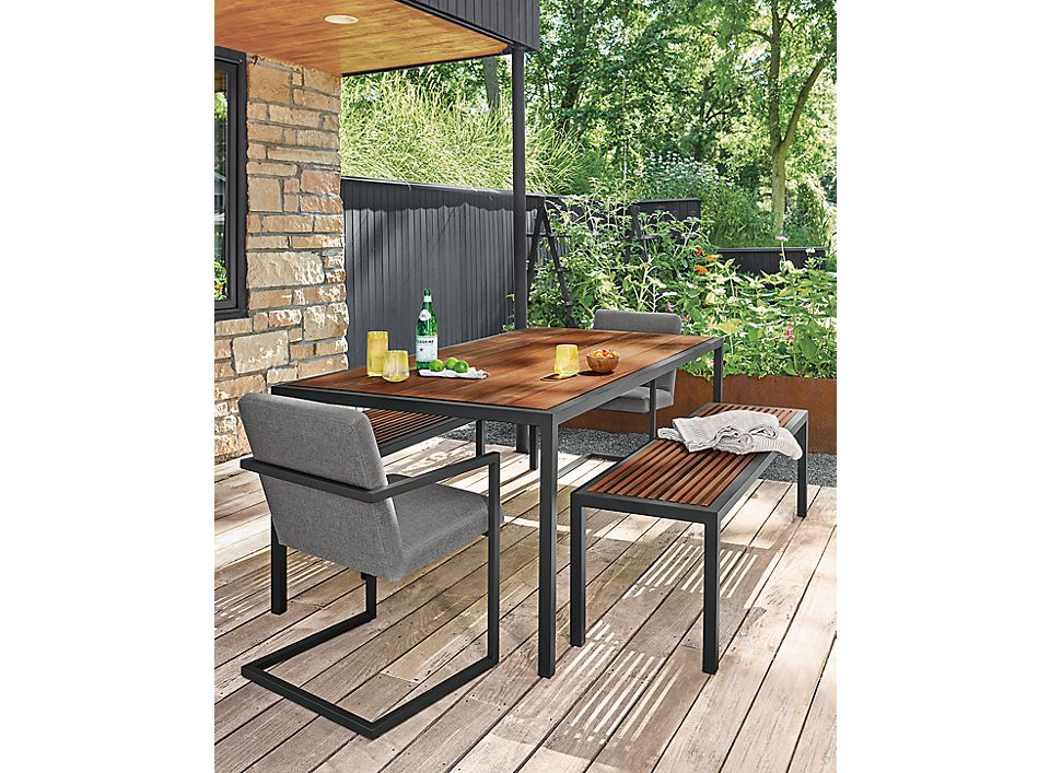 Montego modern outdoor dining set