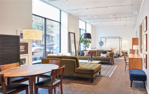 Modern Furniture Store in Chelsea New York City Room Board