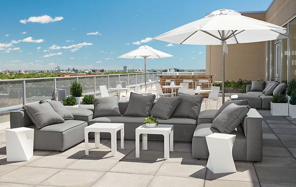 modern outdoor furniture - outdoor - room & board