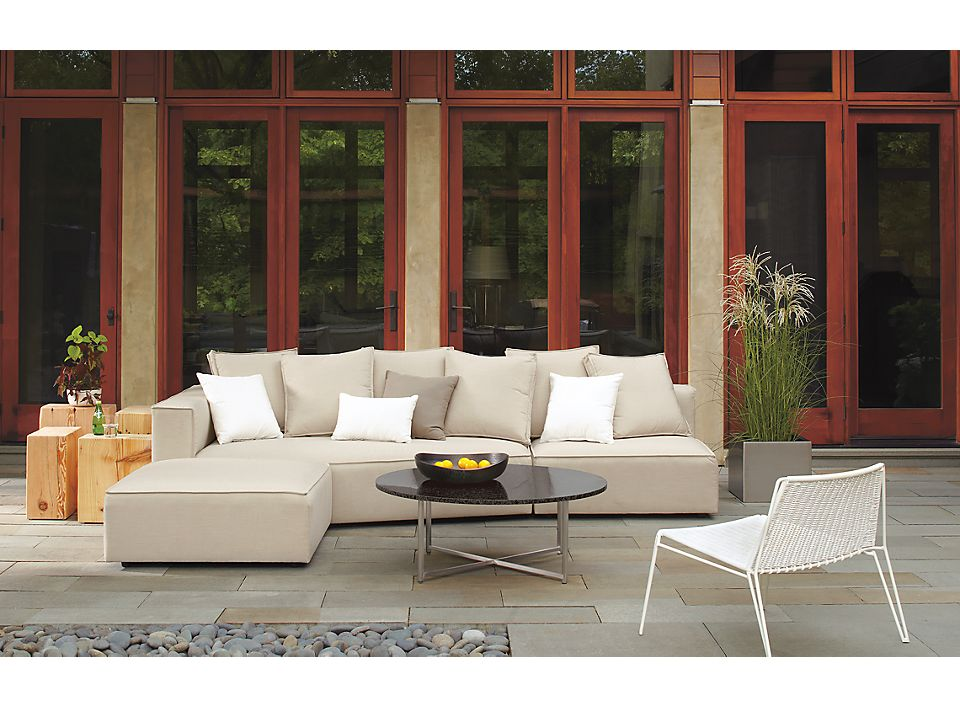 Detail of Oasis outdoor sectional