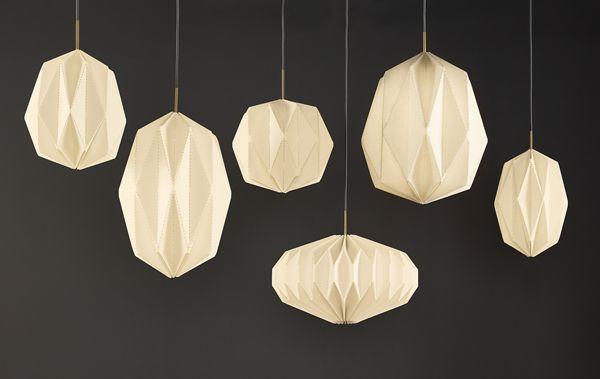 Elegant Orikata Origami Pendants Idea