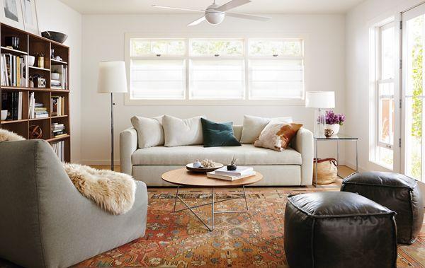 Oxford Pop Up Sleeper Sofa Room Winter whites Room Board