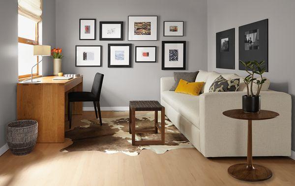 Oxford Sleeper Sofa and Rowan Desk Room Modern Living Room